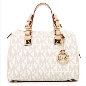 EUC- Signature Michael Kors Satchel